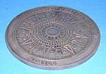 Click here to enlarge image and see more about item MEXICO1: Vintage Large MEXICAN MEDALLION