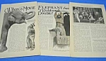 1927 MOVIE MAGIC-EFFECTS Magazine Article