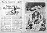 1926 MYSTIC WONDERS OF ORIENT Magic Article