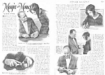 Click here to enlarge image and see more about item MG0330AA1: 1927 MONEY MAGIC TRICKS Mag. Article L@@K!
