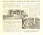1917 Los  Angeles LIBRARY PLANNED Mag. Article
