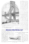 1926 GEORGE WASHINGTON BRIDGE Design NY Mag. Article