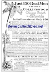 1926 Buy COLLINSWOOD Chicken Ranch FLORIDA Mag. Ad