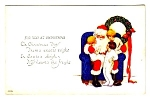 Early SANTA CLAUS w/Children Postcard