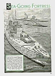 Click here to enlarge image and see more about item MI0529AA1: 1939 British Battleship KING GEORGE V Article
