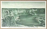 Click here to enlarge image and see more about item MI0715B8: WWII Military DRY FALLS, WASHINGTON Postcard