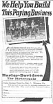 Click here to enlarge image and see more about item MMC031207C1: 1925 SELL HARLEY DAVIDSON Motorcycles Ad