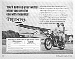 1967 TRIUMPH Motorcycle Ad