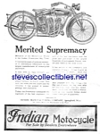 Click here to enlarge image and see more about item MMCV042006E6: 1920 INDIAN MOTORCYCLE Mag. Ad