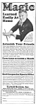 Click here to enlarge image and see more about item MMG031207C5: 1927 LEARN MAGIC Ad Tarbell Systems