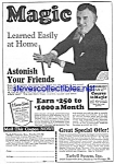 1927 LEARN MAGIC Tarbell Systems Ad