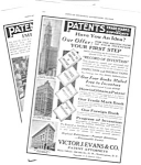 1926 Evans PATENT ATTORNEYS Magazine Ad