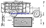 Click here to enlarge image and see more about item MPAT042108A5: Patent Art: 1930s MILK TRUCK - matted
