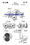 Patent Art: 1930s Marx TOY VEHICLE - matted
