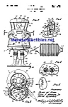 Click here to enlarge image and see more about item MPAT042108C1: Patent Art: 1960s Mattel TOY SPACE SUIT