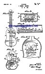 Click here to enlarge image and see more about item MPAT042108C2: Patent Art: 1960s Mattel TOY UKE UKULELE Instrument