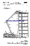 Click here to enlarge image and see more about item MPAT042108C5: Patent Art: 1960s Firetruck Ladder Apparatus