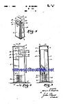 Click here to enlarge image and see more about item MPAT050508A7: Patent Art: 1940s Gas Pump Toy Bank
