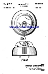 Click here to enlarge image and see more about item MPAT050508B5: Patent Art:1950s Circular Toy Bubble Car