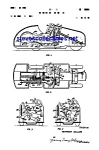 Click here to enlarge image and see more about item MPAT050508B8: Patent Art: 1950s Schuco Toy Car