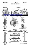 Click here to enlarge image and see more about item MPAT050508B9: Patent Art: 1950s Schuco WindupToy Car
