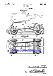 Click here to enlarge image and see more about item MPAT050508C1: Patent Art: 1930s Hubley Toy Car