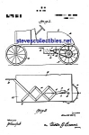 Click here to enlarge image and see more about item MPAT050508C2: Patent Art: 1920s Pedal Car Toy