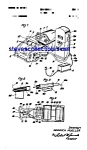 Click here to enlarge image and see more about item MPAT050508C4: Patent Art: 1950s Schuco Toy Car at Gas Pump