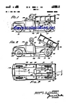 Click to view larger image of Patent Art: 1950s Marx Toy Dump Truck with Man (Image1)