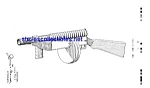 Click here to enlarge image and see more about item MPAT050508D2: Patent Art: 1930s Marx Toy Machine Gun