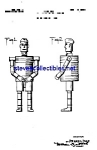 Click here to enlarge image and see more about item MPAT051208A2: Patent Art: 1930s Military Robot