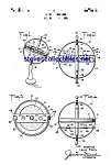 Click here to enlarge image and see more about item MPAT051208A8: Patent Art: 1930s Marx Gyroscope Toy Top