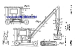 Click here to enlarge image and see more about item MPAT051208B7: Patent Art: 1920s Chein Toy Crane