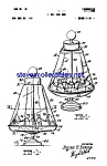 Click here to enlarge image and see more about item MPAT051208B9: Patent Art: 1960s Ohio Art Spinning Top Toy