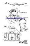 Click here to enlarge image and see more about item MPAT051208C7: Patent Art: 1940s Mannequin Head Design