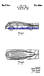 Patent Art: 1930s Manoil Zeppelin Shaped Toy Car