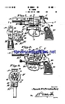 Click here to enlarge image and see more about item MPAT060908B1: Patent Art: 1930s Hubley Toy Cap Pistol