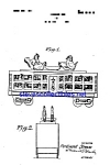 Patent Art: 1920s Strauss Tin Toy Train Car