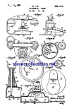 Click here to enlarge image and see more about item MPAT060908B6: Patent Art: 1930s Toy Telephone and Bank
