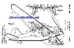 Click here to enlarge image and see more about item MPAT060908B9: Patent Art: 1930s Hubley Toy Airplane