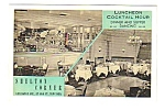 1950s SHELTON CORNER RESTAURANT New York Postcard
