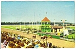Click here to enlarge image and see more about item MPC121206C4: 1959 CHARLOTTETOWN DRIVING PARK Horseracing Postcard