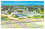 1959 SEASIDE PARK AQUARIUM, Coney Island, NY Postcard