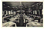 Click here to enlarge image and see more about item MPC121206C9: 1950s GARTENHAUS RESTAURANT U.S. Rte 6 Conn. Postcard