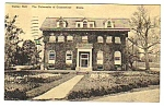 Click here to enlarge image and see more about item MPC121206E1: 1950 UNIVERSITY OF CONNECTICUT - Gulley Hall Postcard