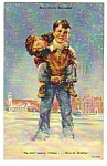 1952 BOYS TOWN, Nebraska Linen Postcard