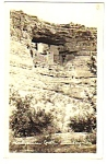 Click here to enlarge image and see more about item MPC121206E7: 1936 MONTEZUMA CASTLE Arizona Real Photo Postcard
