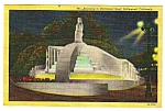 Click here to enlarge image and see more about item MPC121206F4: 1954 HOLLYWOOD BOWL, Hollywood California Postcard