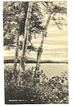 1955 NEWFOUND LAKE New Hampshire Linen Postcard