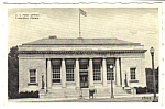 Click here to enlarge image and see more about item MPC121406E7B: 1949 TAMAQUA PENNSYLVANIA Post Office Postcard